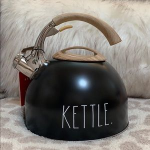 Rae Dunn Kettle Teapot with Wooden Handle. New